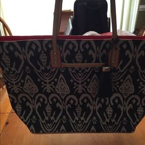 Stella and Dot La Totale Large Espresso Tote